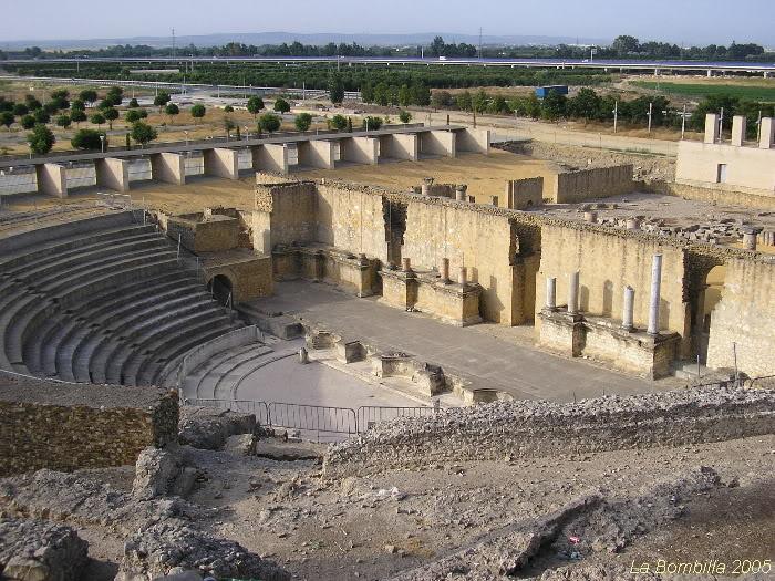 Teatro romano, Santiponce, Sevilla