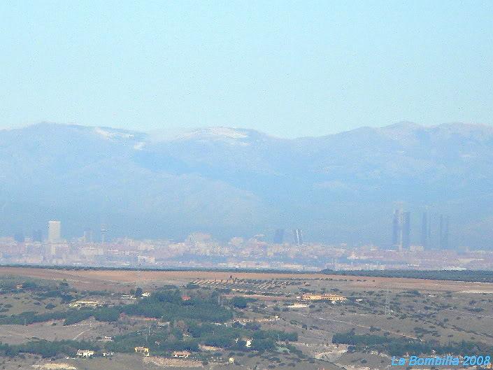 Madrid desde Chinchón
