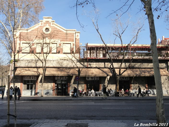 Casa Mingo , Barrio de la Bombilla, Madrid