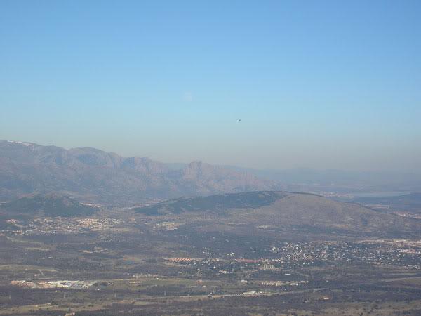 Desde el monte Abantos
