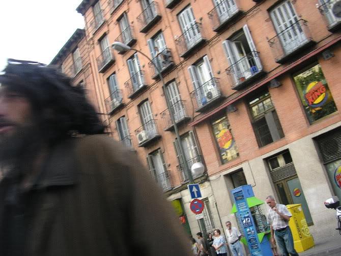 ...por algún lugar de las calles de Madrid