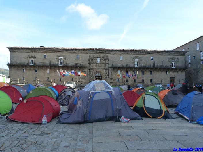 Indignados Santiago de Compostela